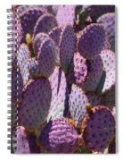 Purple Cacti Spiral Notebook