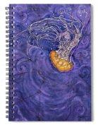 Purple Calm Spiral Notebook