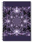 Purple Celeste  Spiral Notebook