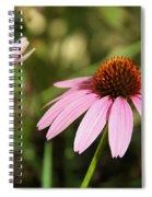 Purple Cone Flower Spiral Notebook