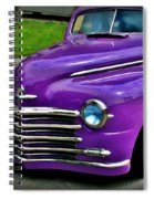 Purple Cruise Spiral Notebook