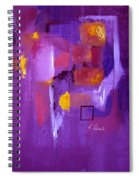 Purple Enclosure Spiral Notebook
