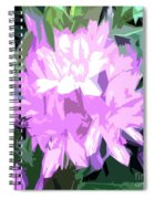 Purple Fades To Lilac Spiral Notebook