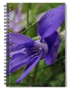 Purple Flower 2 Spiral Notebook