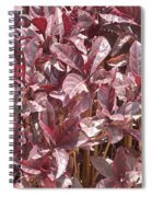 Purple Foliage Spiral Notebook