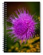 Purple Fringe Spiral Notebook