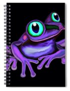 Purple Frog  Spiral Notebook