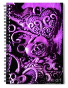 Purple Heart Collection Spiral Notebook
