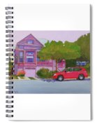 Purple House, Alameda Spiral Notebook