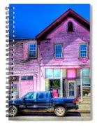 Purple House Spiral Notebook