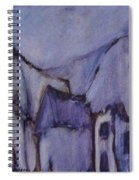 Purple Hut Spiral Notebook