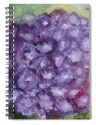 Purple Hydrangea Spiral Notebook
