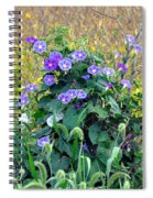 Purple In The Morning Spiral Notebook