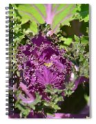 Purple Kale Spiral Notebook