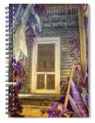 Purple Key West Spiral Notebook
