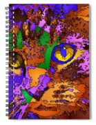 Purple Love. Pet Series Spiral Notebook