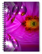 Purple Magic Spiral Notebook