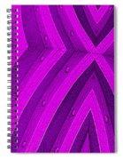 Purple Maze Spiral Notebook