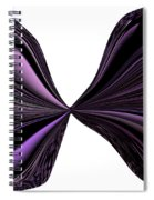 Purple Monarch Butterfly Abstract Spiral Notebook
