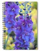 Purple Mullein Spiral Notebook