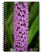 Purple Pillar Spiral Notebook