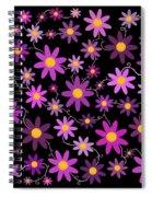 Purple Polka Spiral Notebook