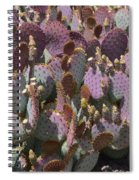 Purple Prickly Pear 2 Spiral Notebook