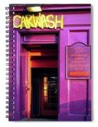 Purple Pub Spiral Notebook
