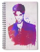Purple Rain Spiral Notebook