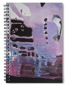 Purple Seascape Spiral Notebook