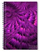 Purple Shell Spiral Notebook