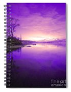 Purple Skies Spiral Notebook