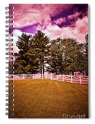 Purple Sky Spiral Notebook