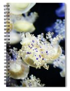 Purple Spotted Jellyfish  Spiral Notebook