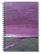 Purple Sunset Spiral Notebook