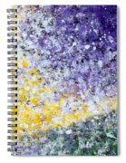 Purple Tree And The Afternoon Sun Spiral Notebook