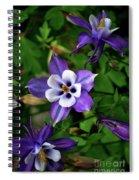 Purple Trio Spiral Notebook