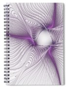 Purplish Spiral Notebook