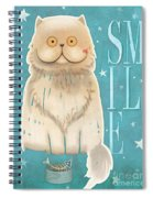 Purr, Smile Cat Spiral Notebook