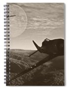 Pursuit Of The Fox Spiral Notebook