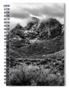 Pusch Ridge Snow No10 Spiral Notebook