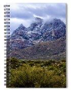 Pusch Ridge Snow No8 Spiral Notebook