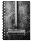 Push Broom Spiral Notebook