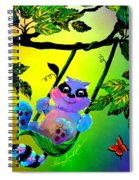 Push Me Please Spiral Notebook