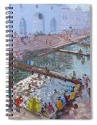Pushkar Ghats Rajasthan Spiral Notebook