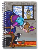 Pussy Cat, Pussy Cat Spiral Notebook