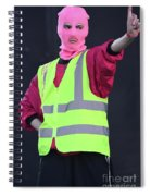 Pussy Riot  Spiral Notebook