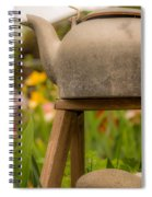 Put The Kettle On Spiral Notebook