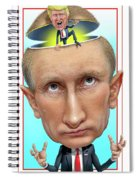 Putin 2016 Spiral Notebook