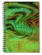 Puzzle Face Spiral Notebook